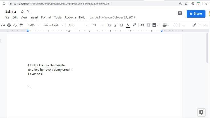 datura document